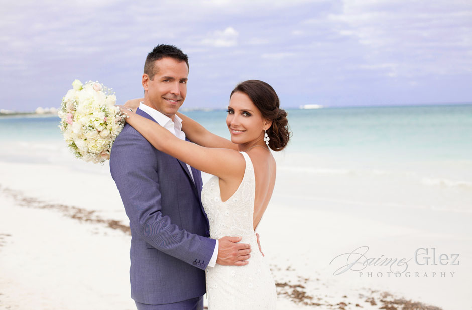 secrets maroma beach wedding 25