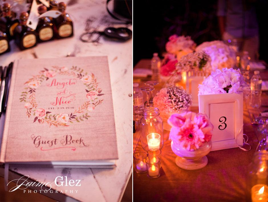 Very romantic wedding decor.