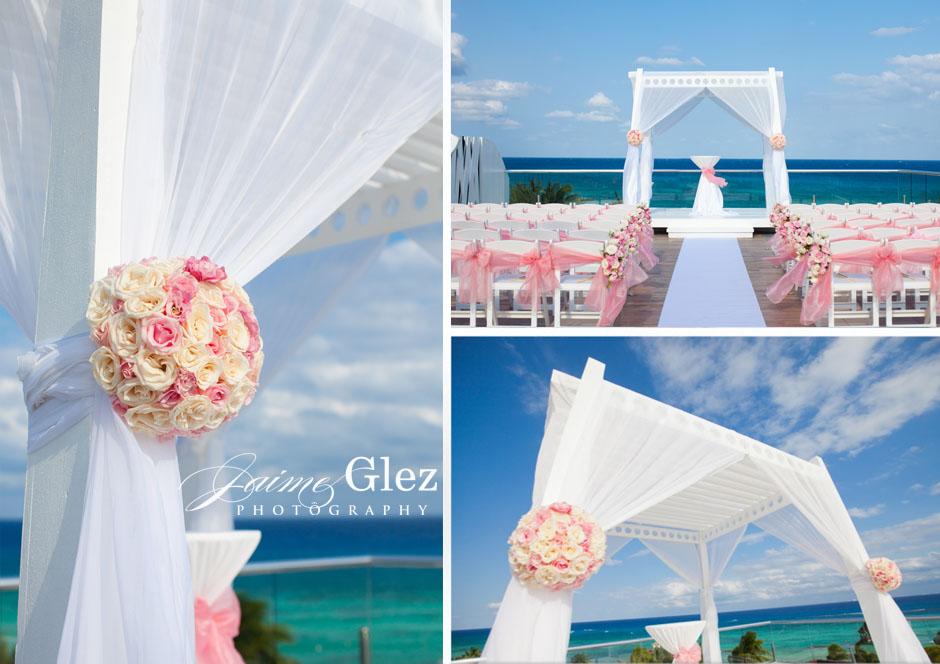 azul fives riviera maya wedding