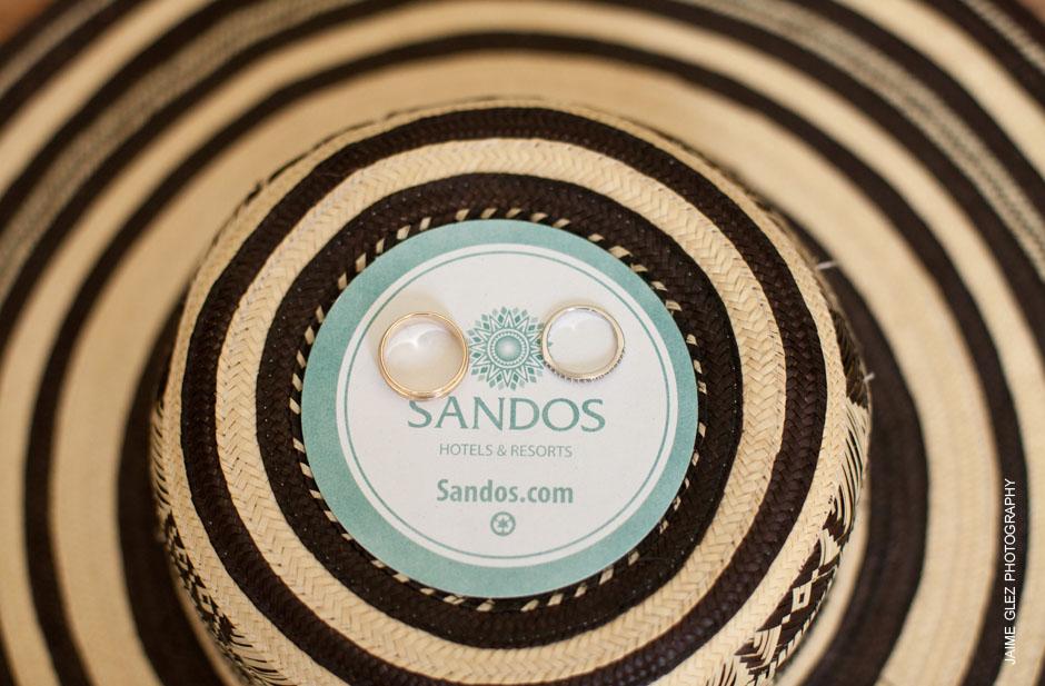 sandos caracol eco resort wedding photos 1