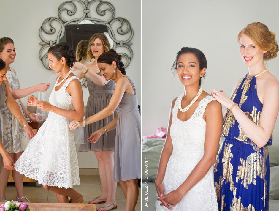 sandos caracol eco resort wedding photos 5