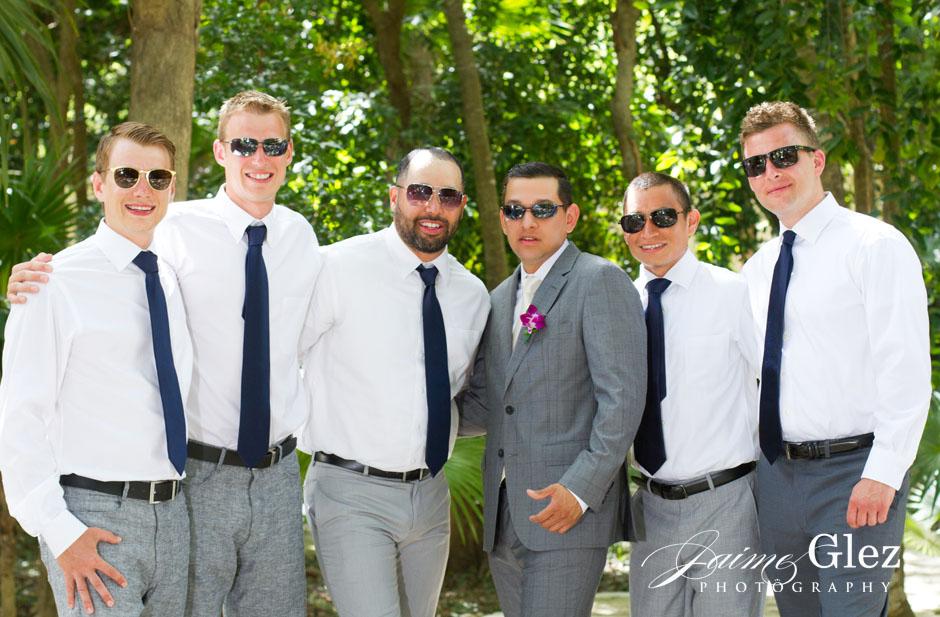 sandos caracol eco resort wedding photos 10