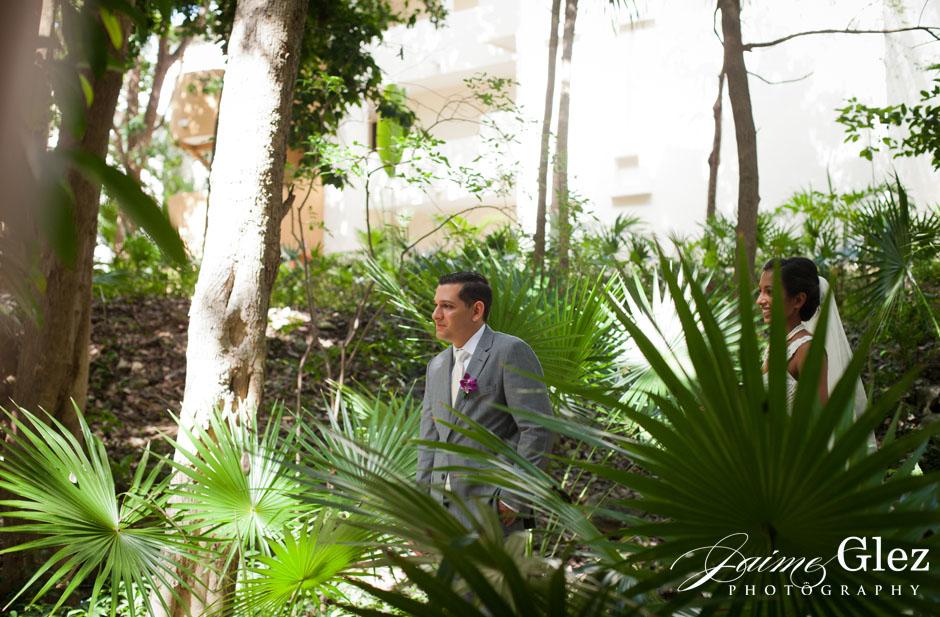 sandos caracol eco resort wedding photos 11
