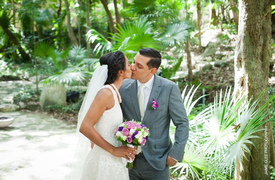 sandos caracol eco resort wedding photos 12