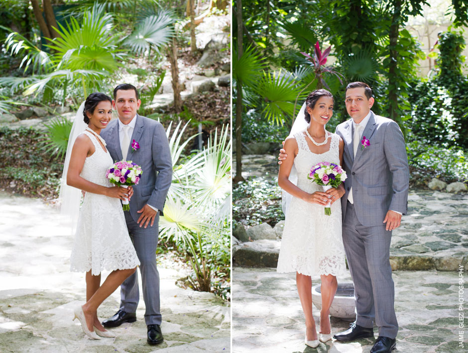 sandos caracol eco resort wedding photos 13