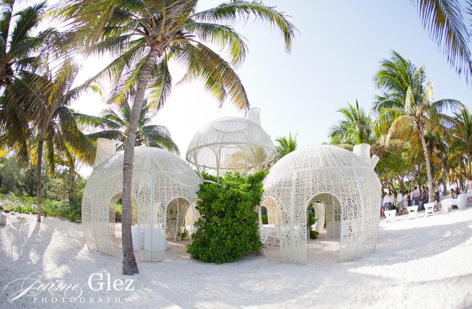 sandos caracol eco resort wedding photos 16