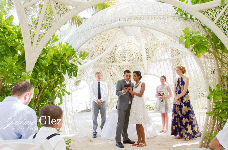sandos caracol eco resort wedding photos 17