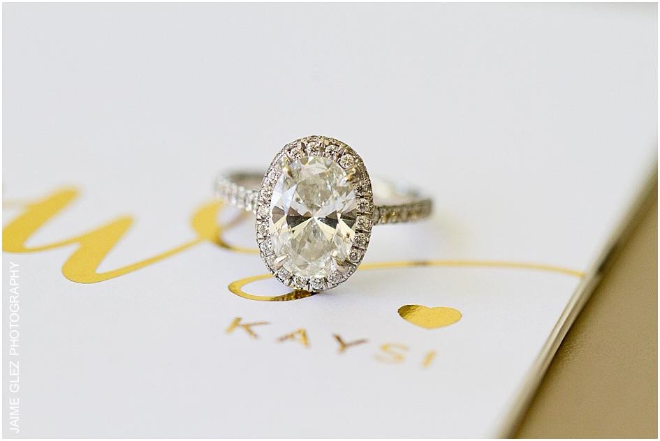 Breathtaking wedding ring.