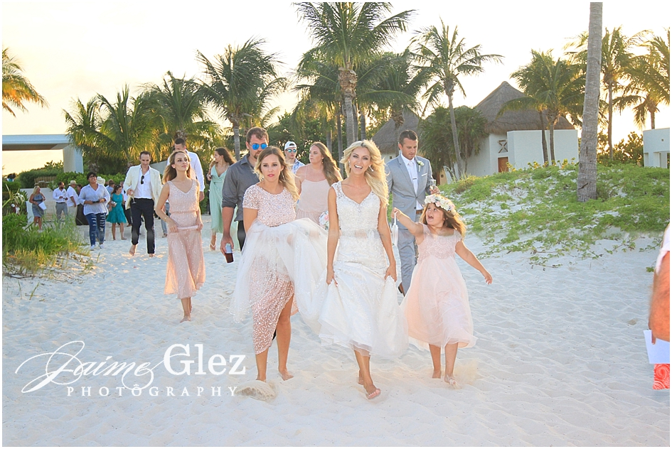 finest playa mujeres cancun wedding 36