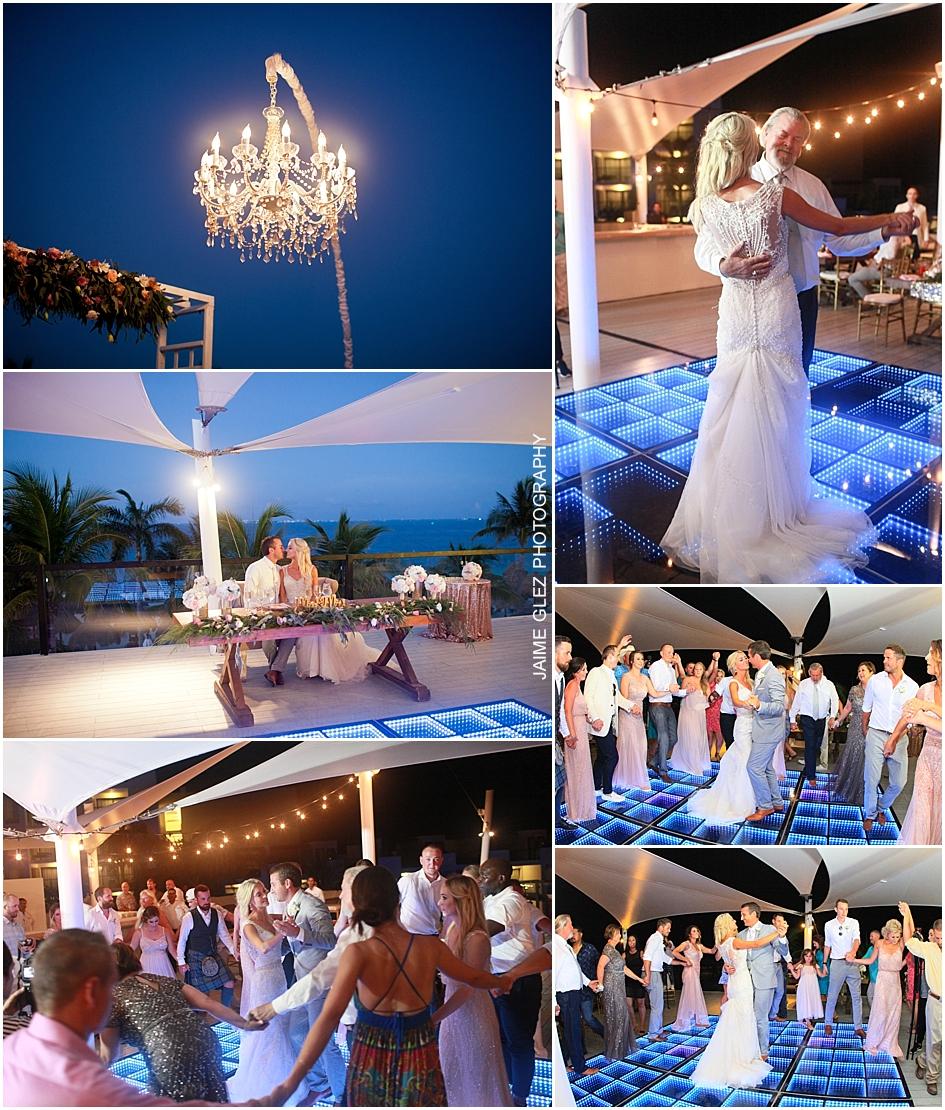 finest playa mujeres cancun wedding 48