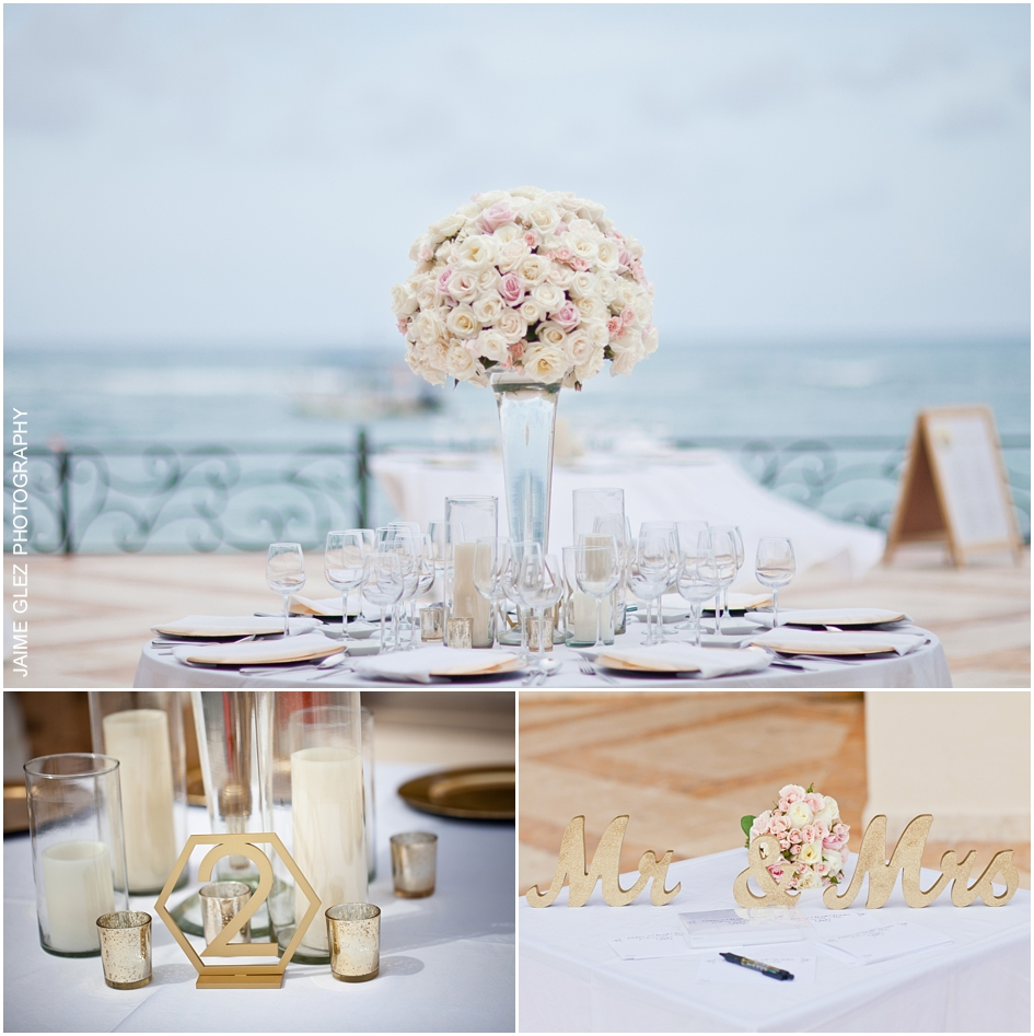Very elegant, fresh and romantic wedding decor.