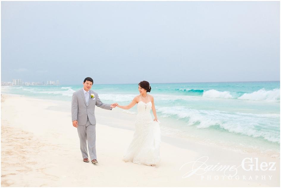 Sandos cancun luxury wedding