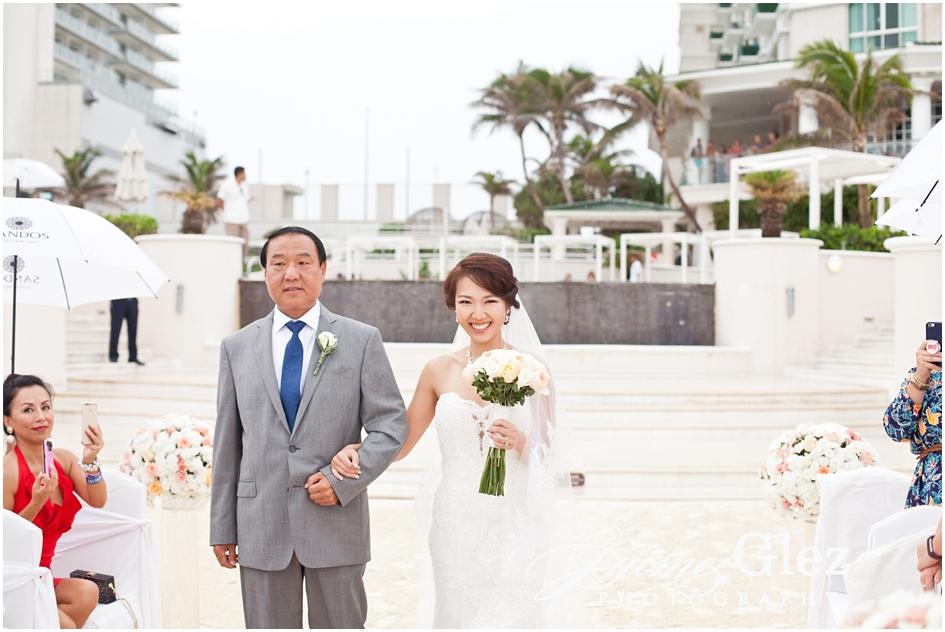 Sandos cancun luxury wedding 19
