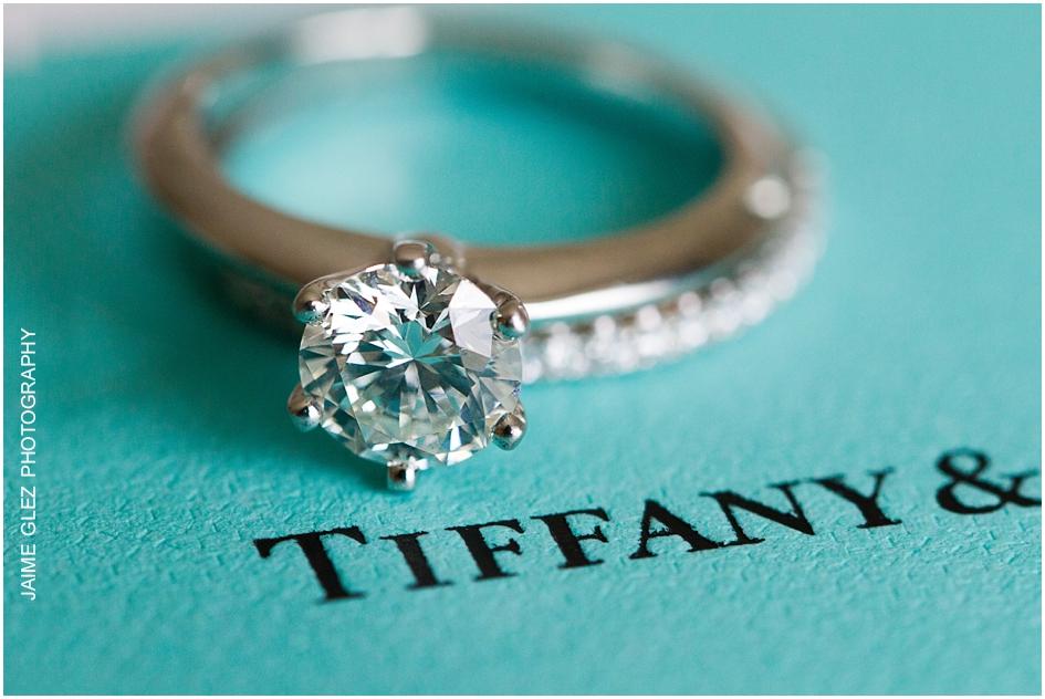 Dream engagement Tiffany ring.