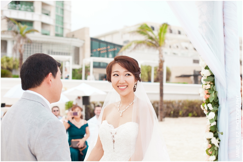 Sandos cancun luxury wedding 22