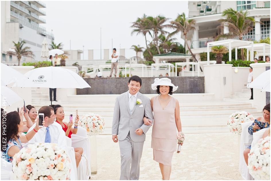 Sandos cancun luxury wedding 18