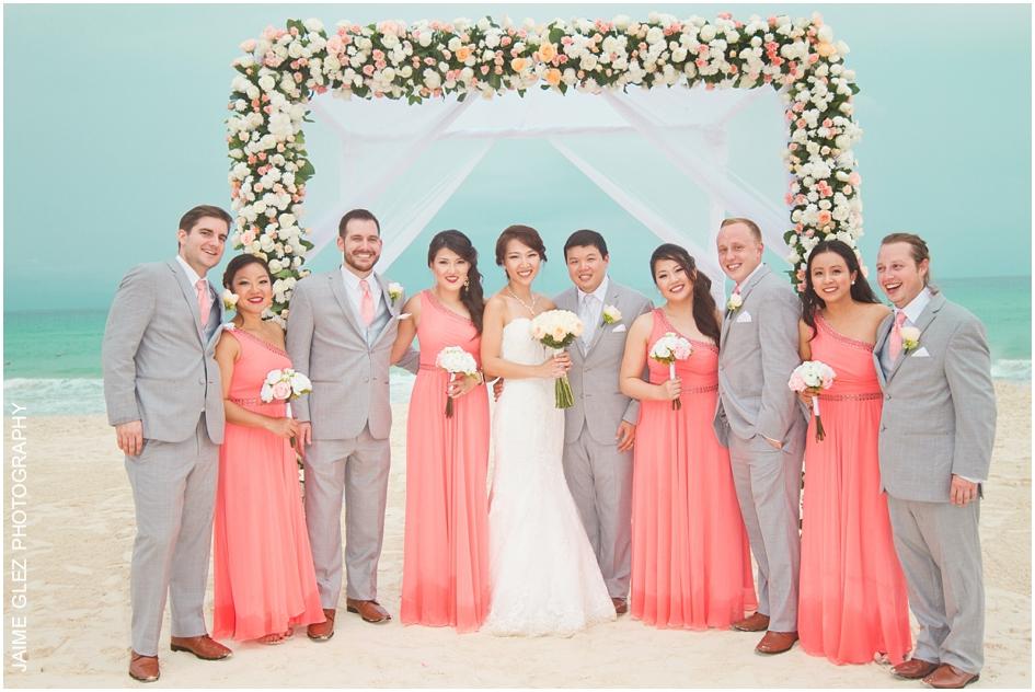 Sandos cancun luxury wedding 26