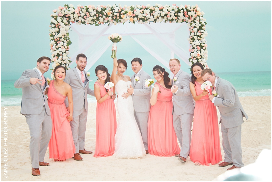 Sandos cancun luxury wedding 25