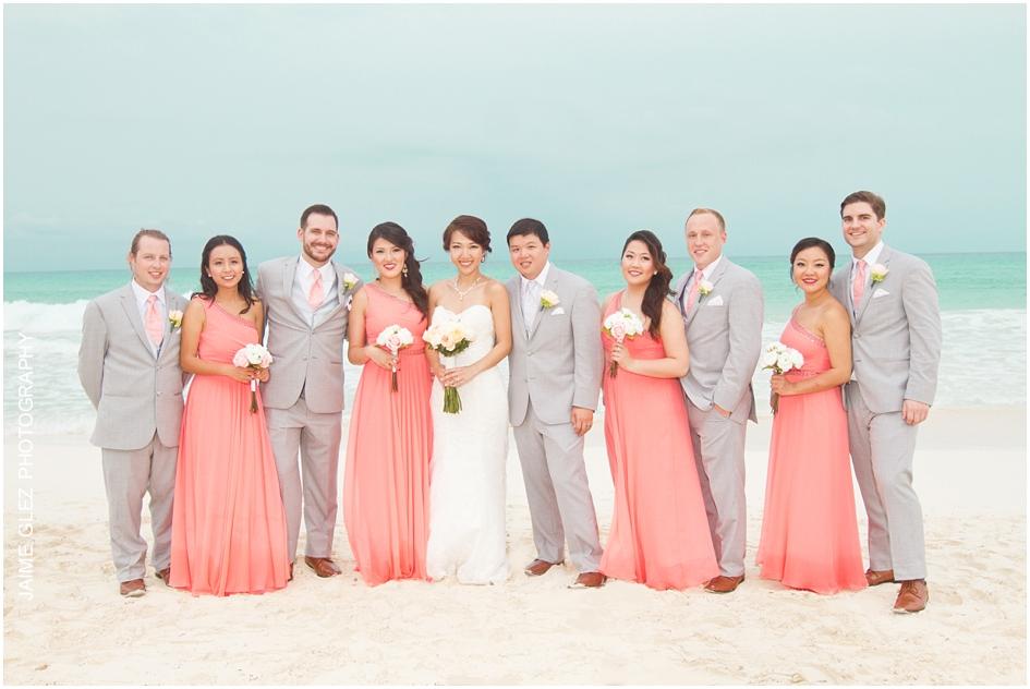 Sandos cancun luxury wedding 27