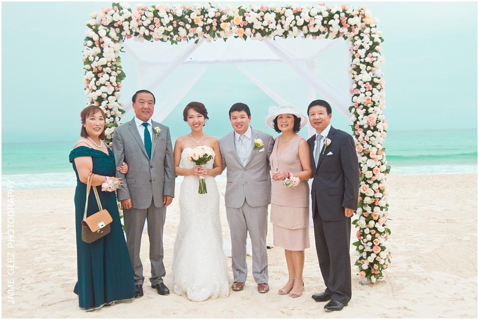 Sandos cancun luxury wedding 32