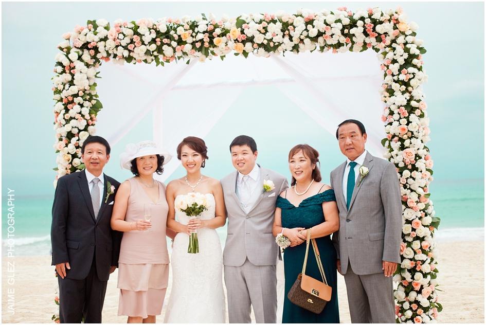 Sandos cancun luxury wedding 31