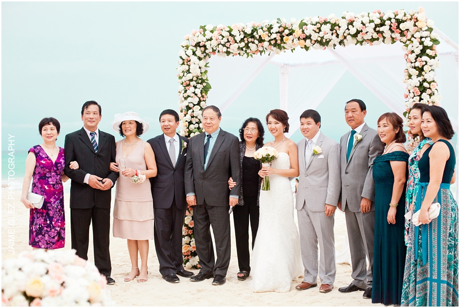 Sandos cancun luxury wedding 30