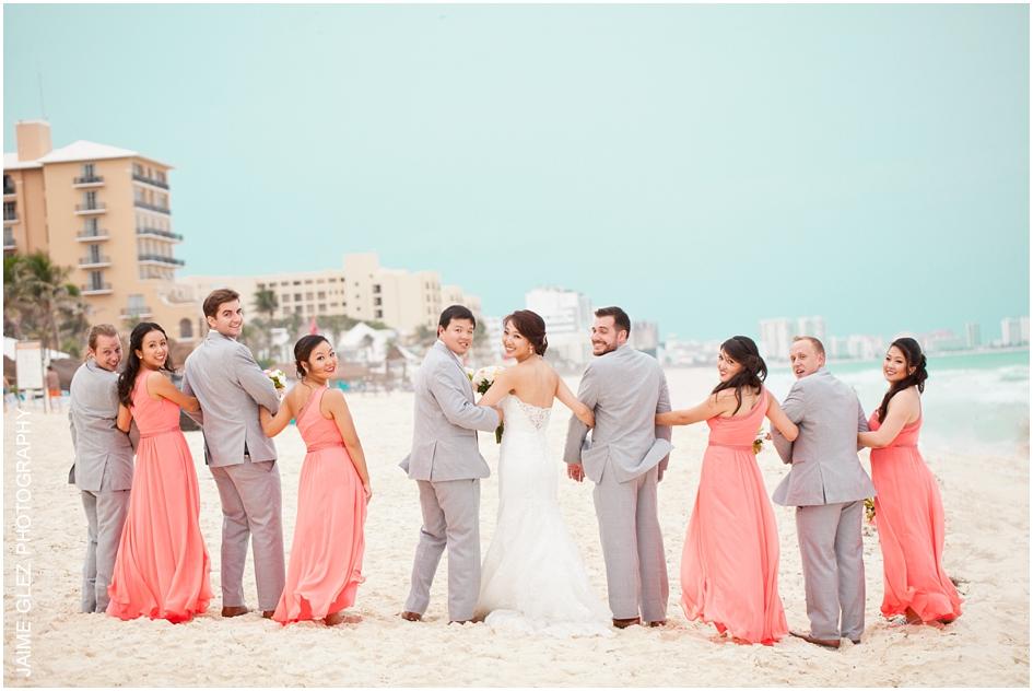 Sandos cancun luxury wedding 29