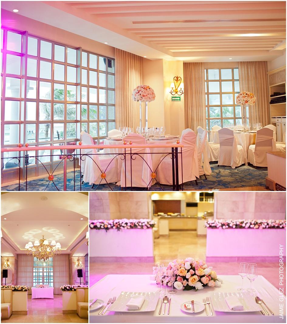 Sandos cancun luxury wedding 36