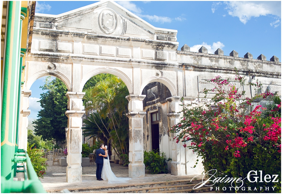 hacienda yaxcopoil boda yucatan mexico