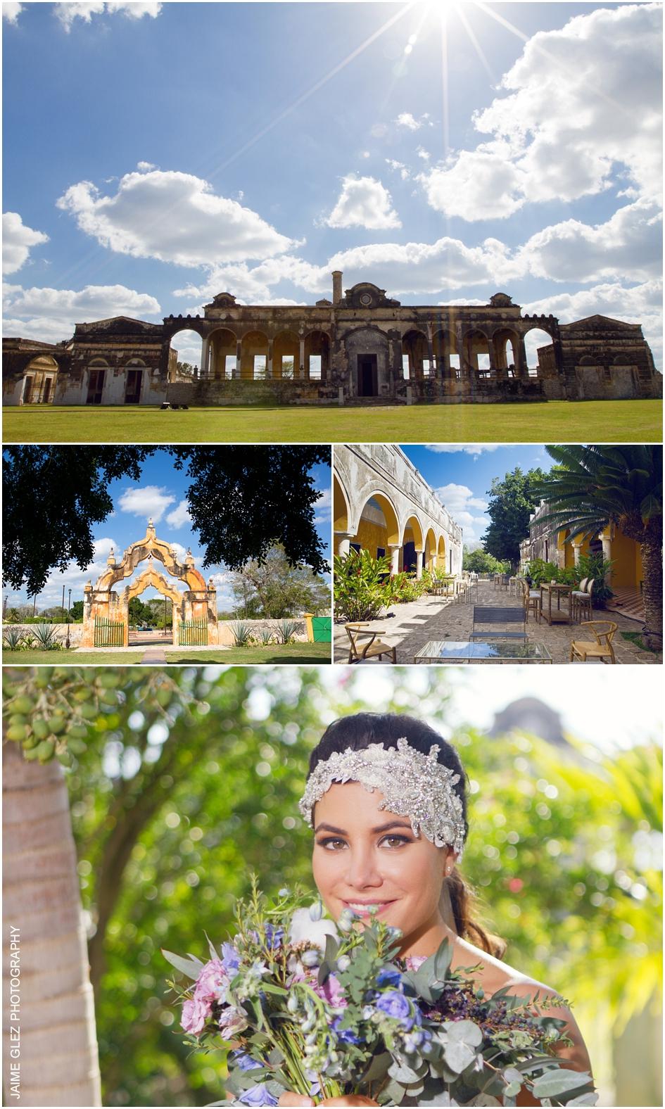 hacienda yaxcopoil boda yucatan mexico 1
