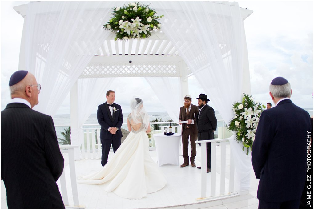 A very special and beautiful jewish wedding ceremony! Congratulations!