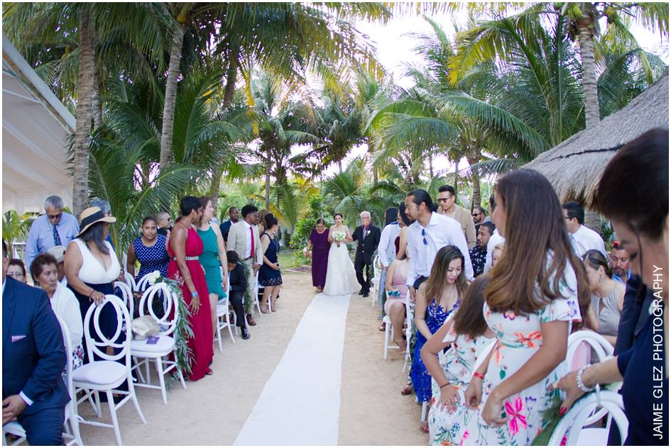 ocean wedding cancun mexico 11