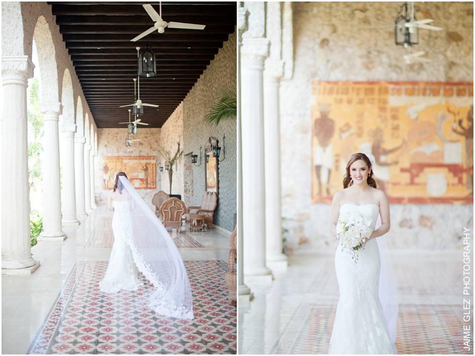 boda en hacienda santa cruz merida 11