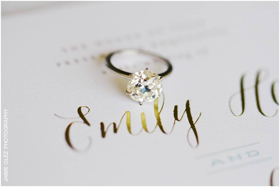 Lovely classic solitaire perfect for the bride Emily.