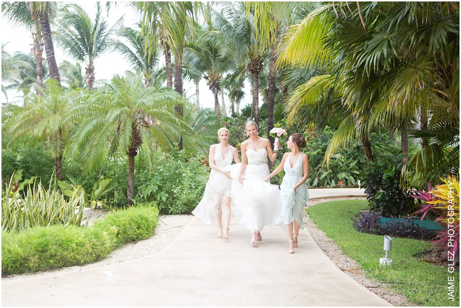 secrets maroma beach wedding photos 9