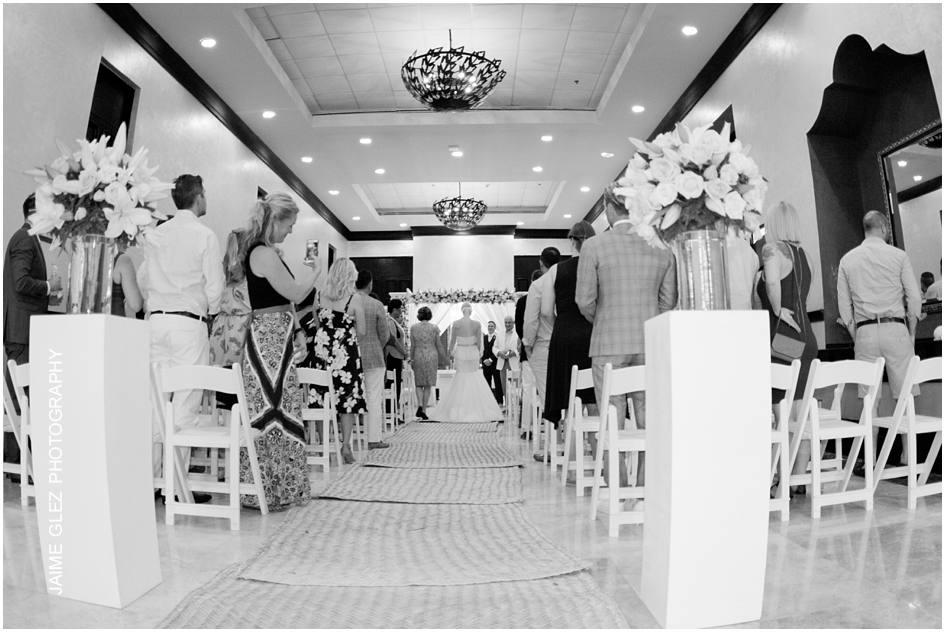 secrets maroma beach wedding photos 16