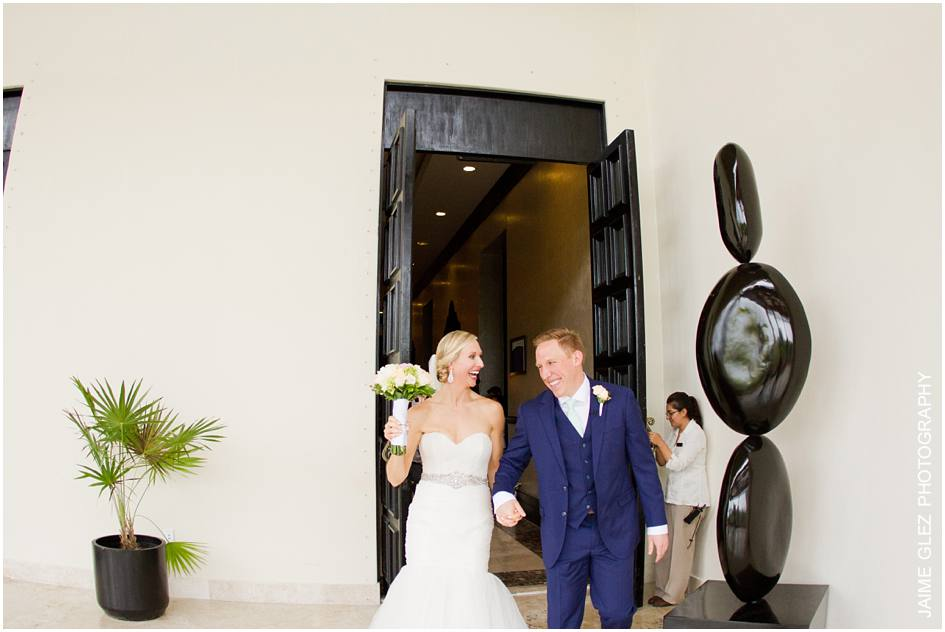 secrets maroma beach wedding photos 19