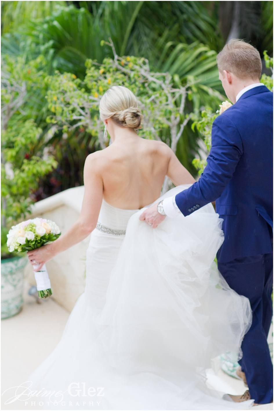 secrets maroma beach wedding photos 21