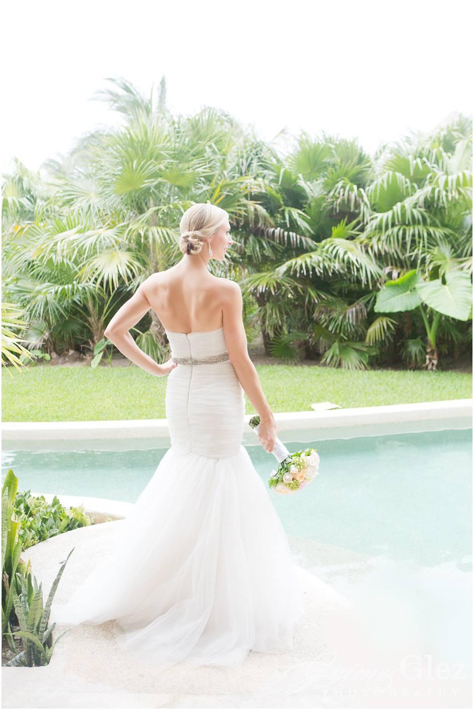secrets maroma beach wedding photos 8