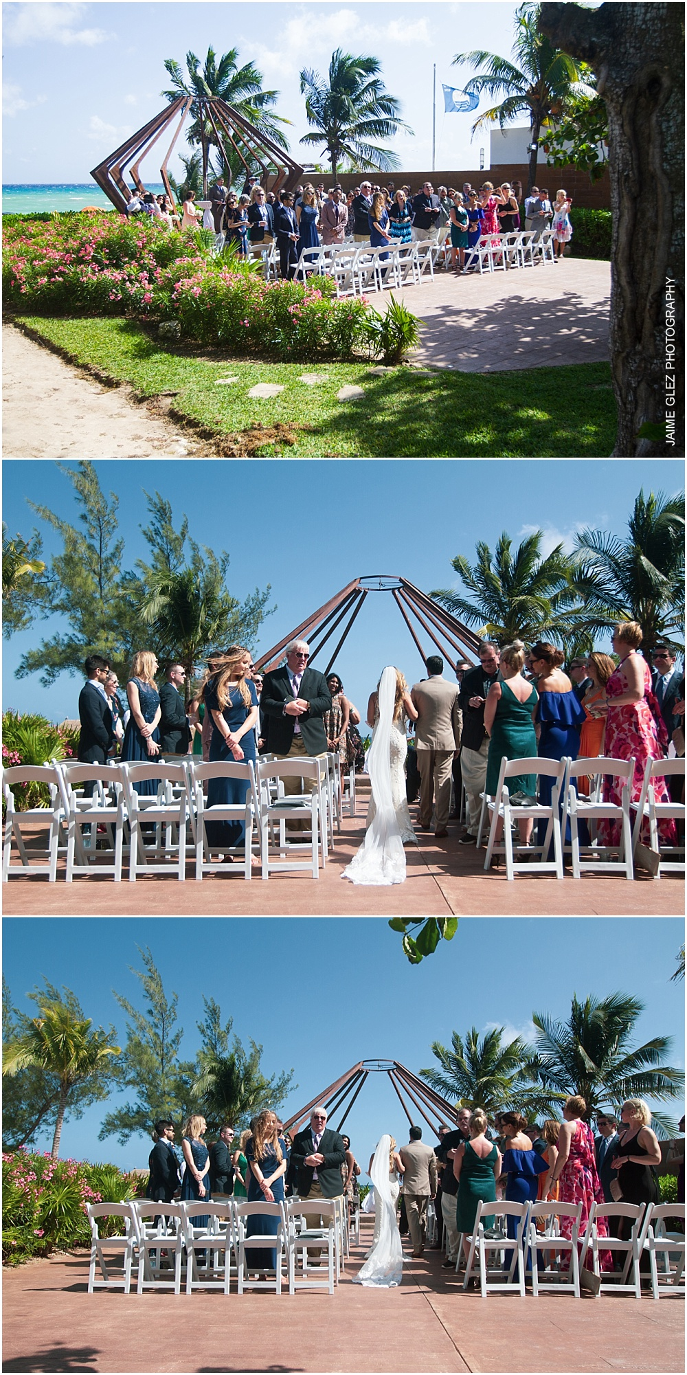 the fives azul beach resort wedding 13