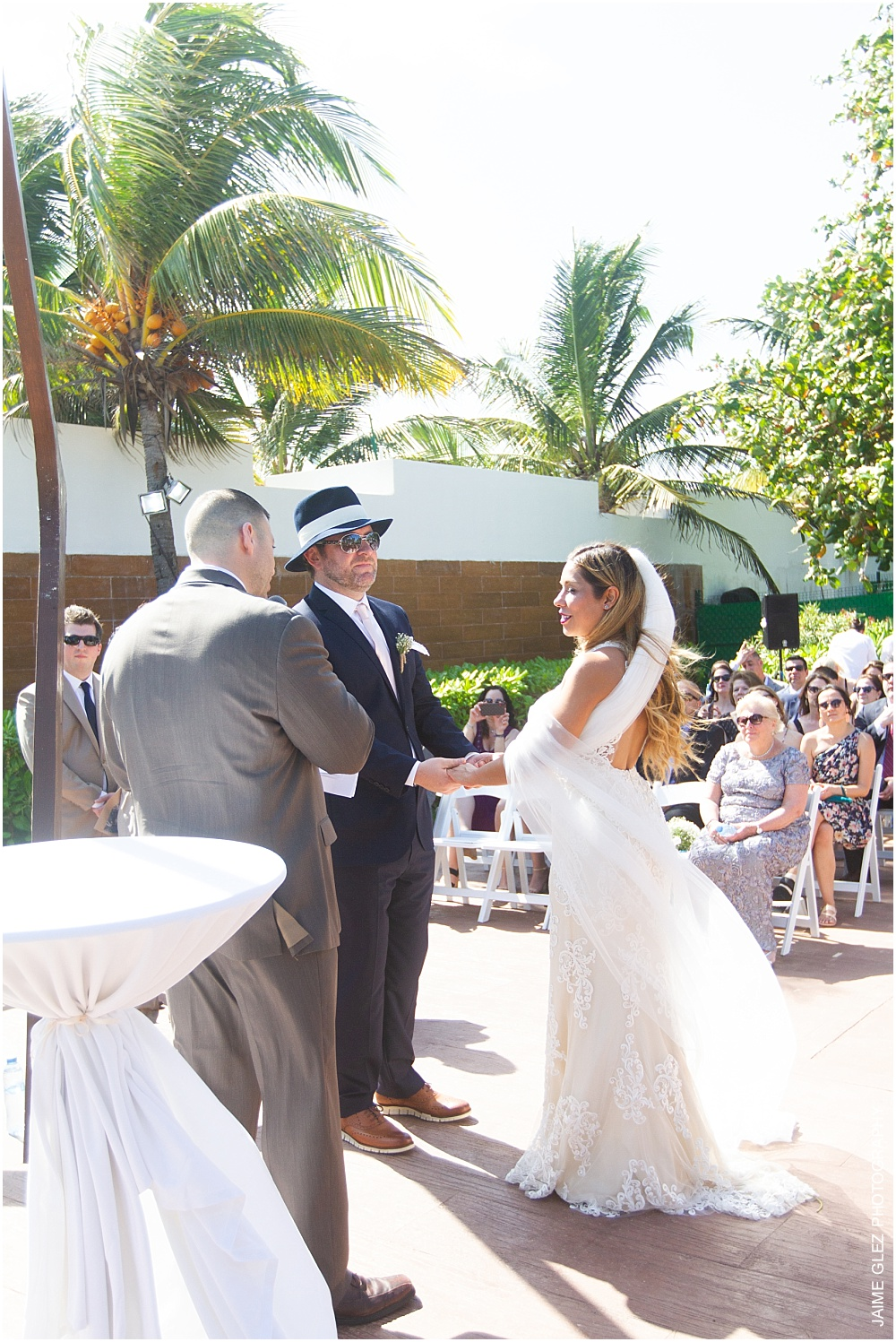 the fives azul beach resort wedding 15