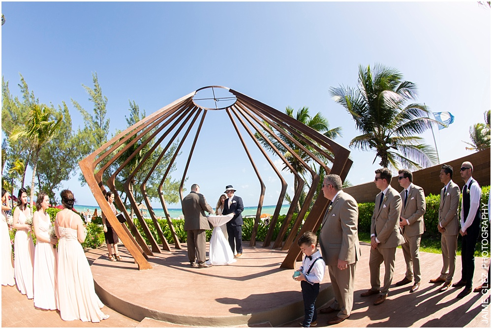 the fives azul beach resort wedding 17