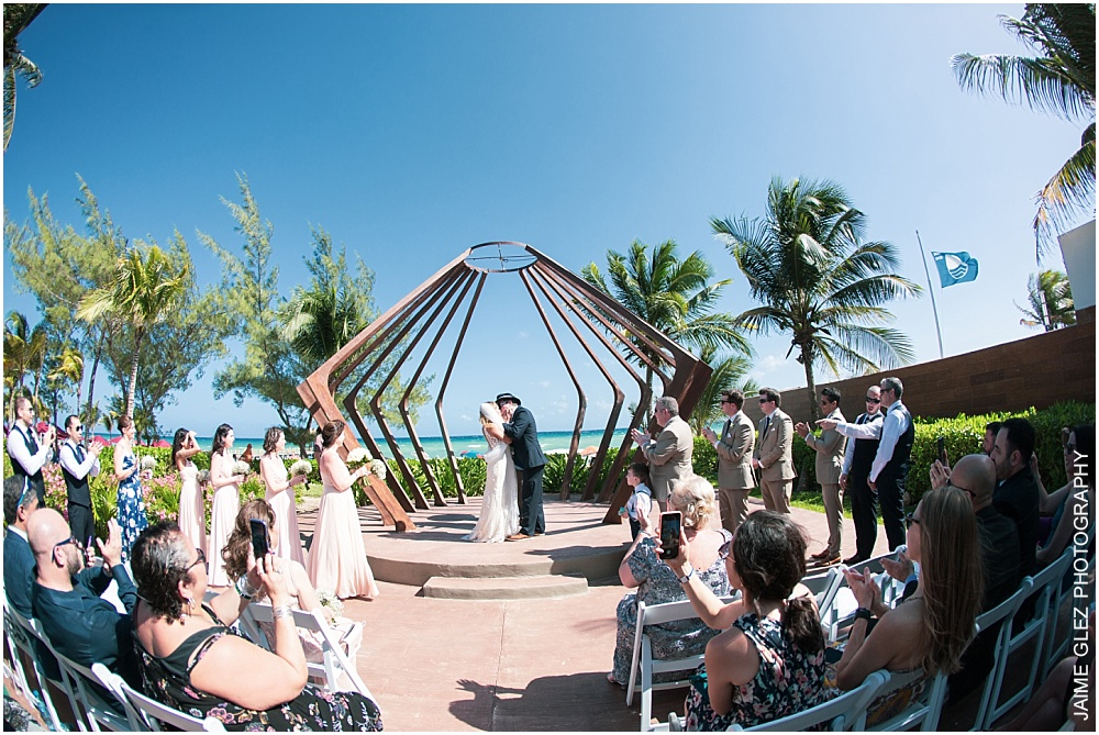 the fives azul beach resort wedding 18