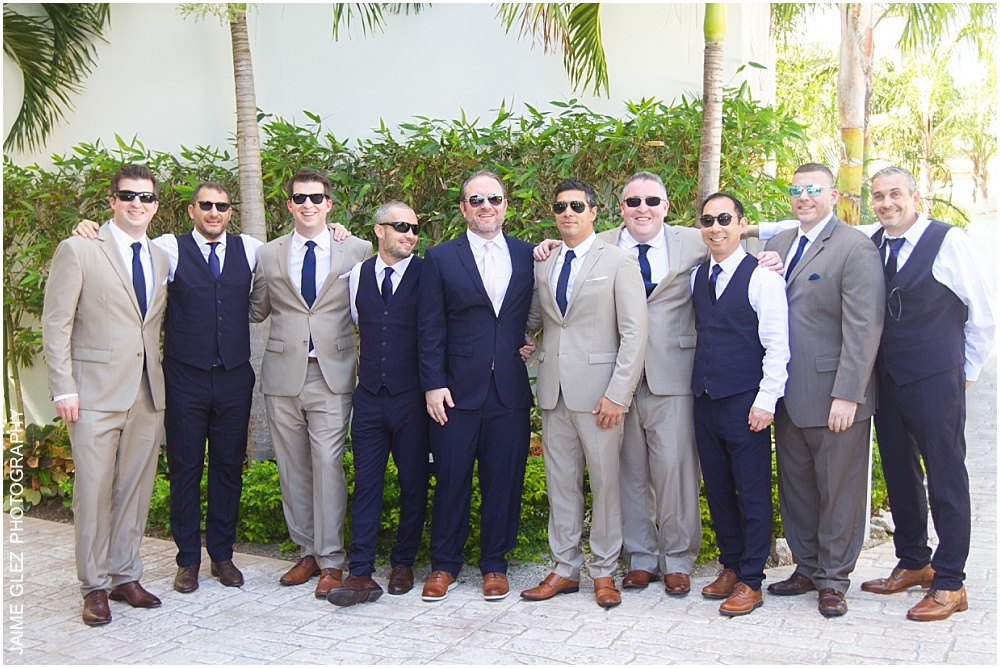 the fives azul beach resort wedding 11