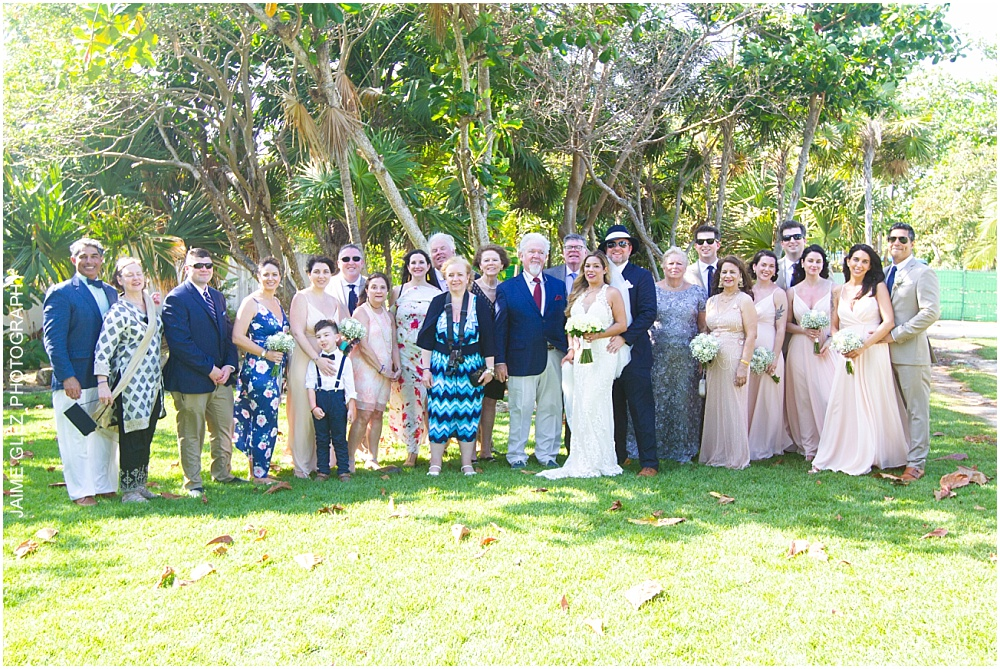 the fives azul beach resort wedding 20