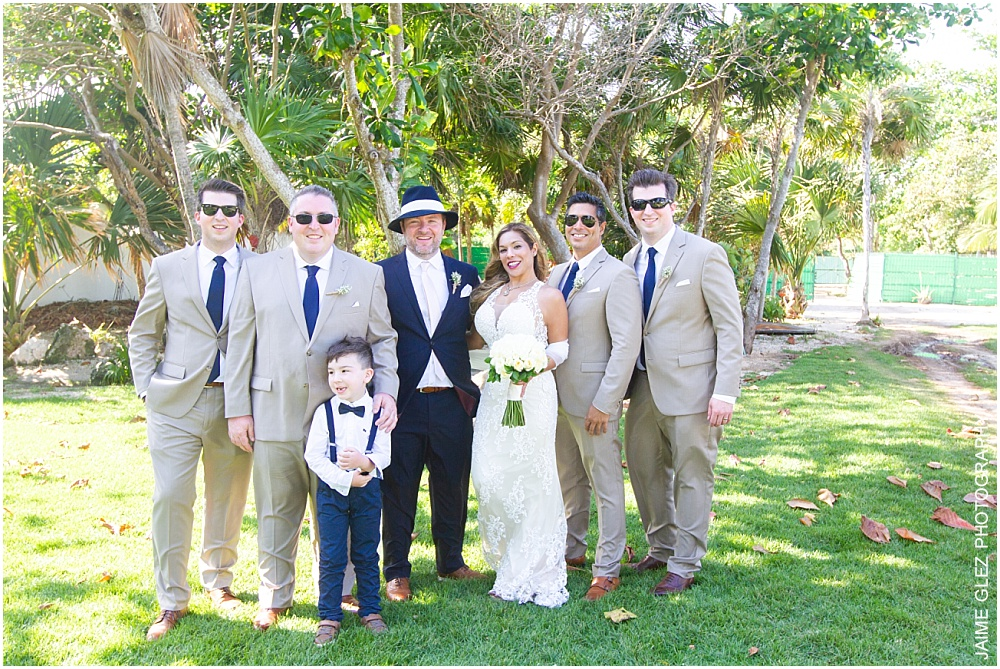 the fives azul beach resort wedding 21
