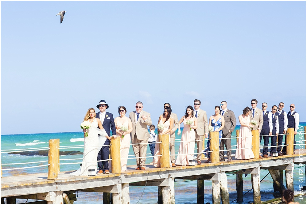the fives azul beach resort wedding 25