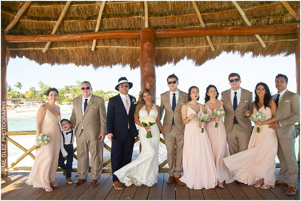the fives azul beach resort wedding 28