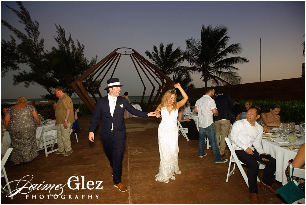 the fives azul beach resort wedding 39