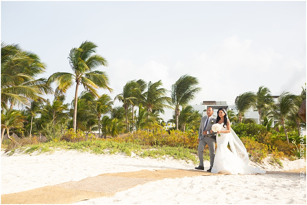 wedding at the finest playa mujeres 16